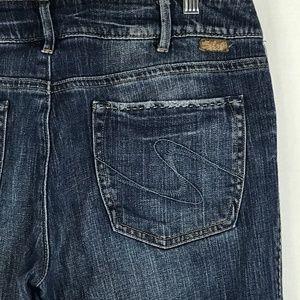 Silver Julia Boot Cut Jeans